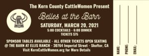 Belles at the Barn Ticket